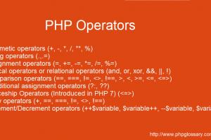 PHP-operators-types
